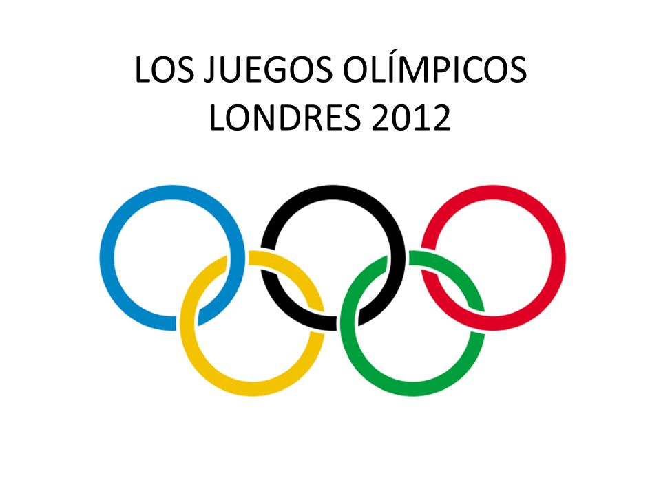 LOS JUEGOS OLÍMPICOS LONDRES 2012