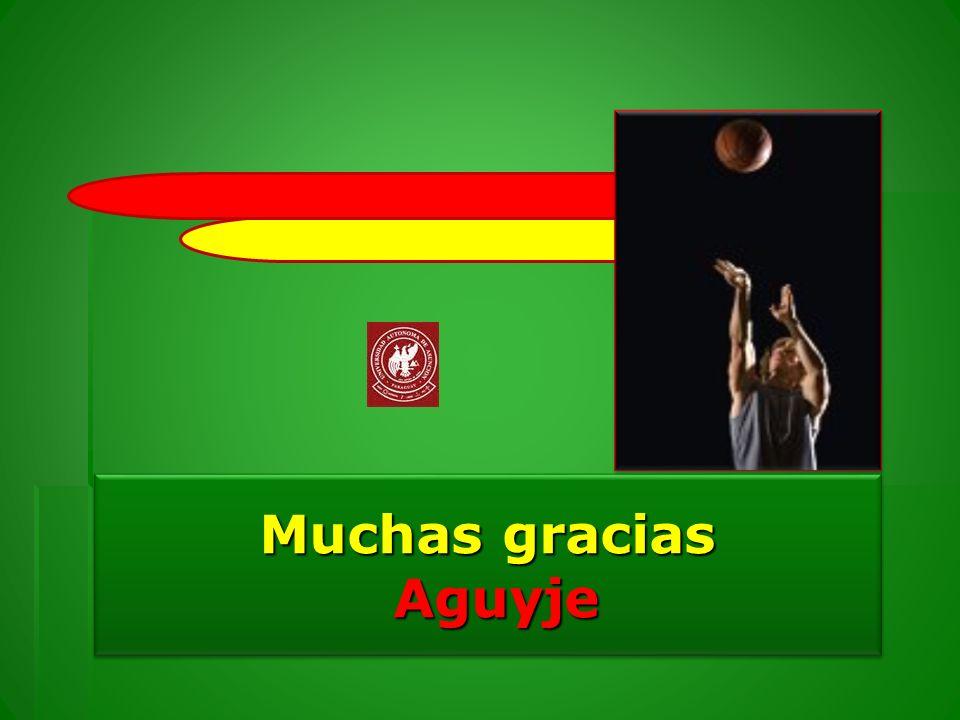 Muchas gracias Aguyje