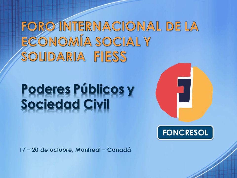 FIESS Foro Internacional de la Economía Social y Solidaria