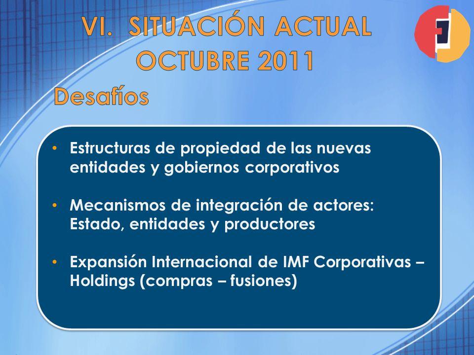 Situación Actual Octubre 2011
