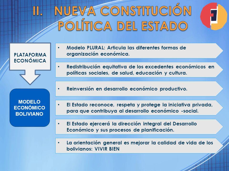 Nueva Constitución Política del Estado