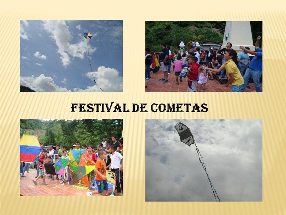 FESTIVAL DE COMETAS