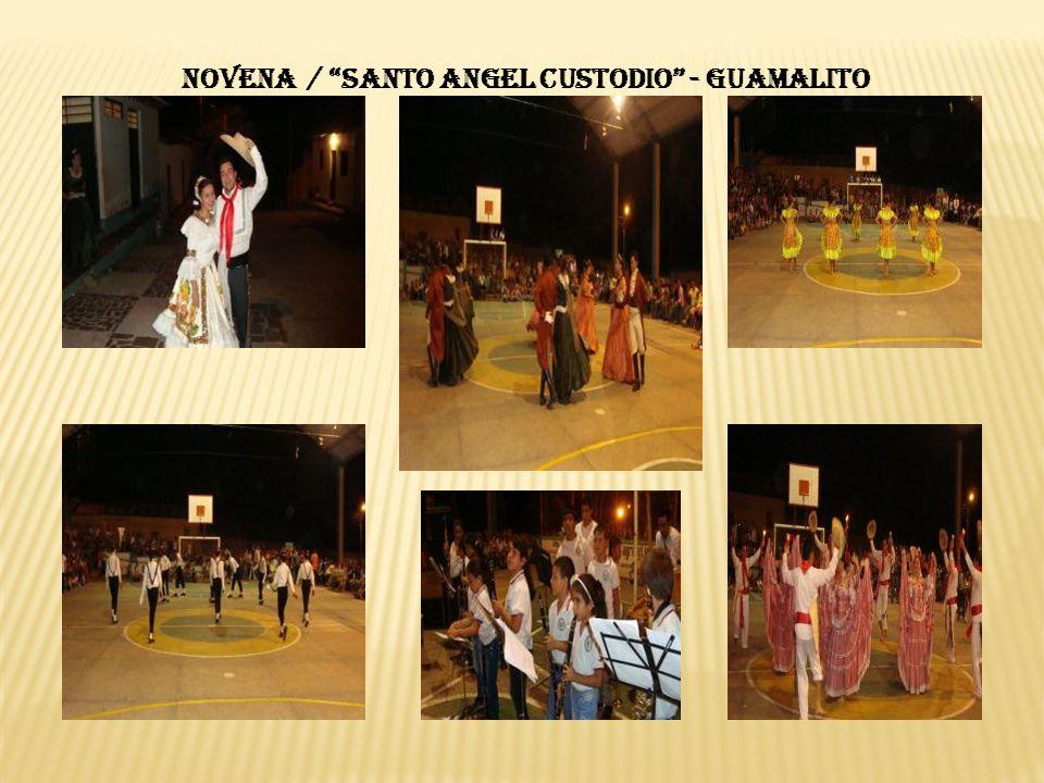 NOVENA / SANTO ANGEL CUSTODIO - GUAMALITO
