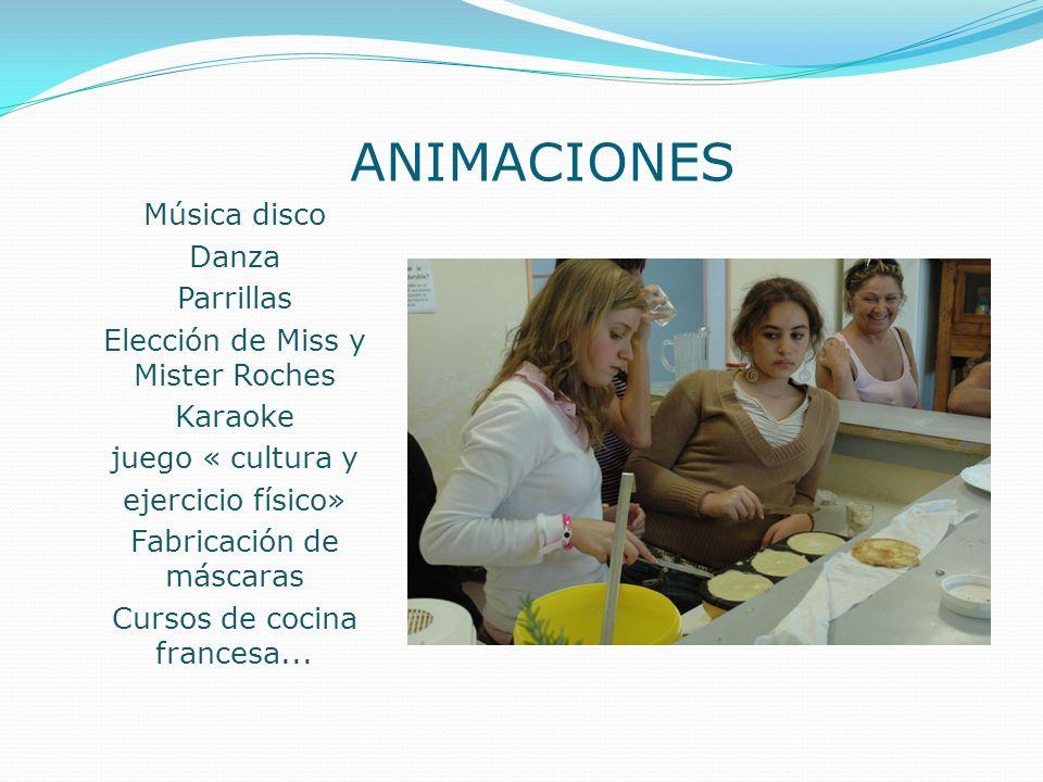 ANIMACIONES Música disco Danza Parrillas