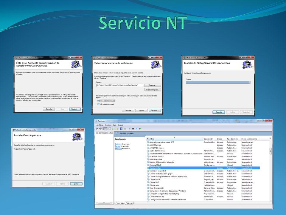 Servicio NT