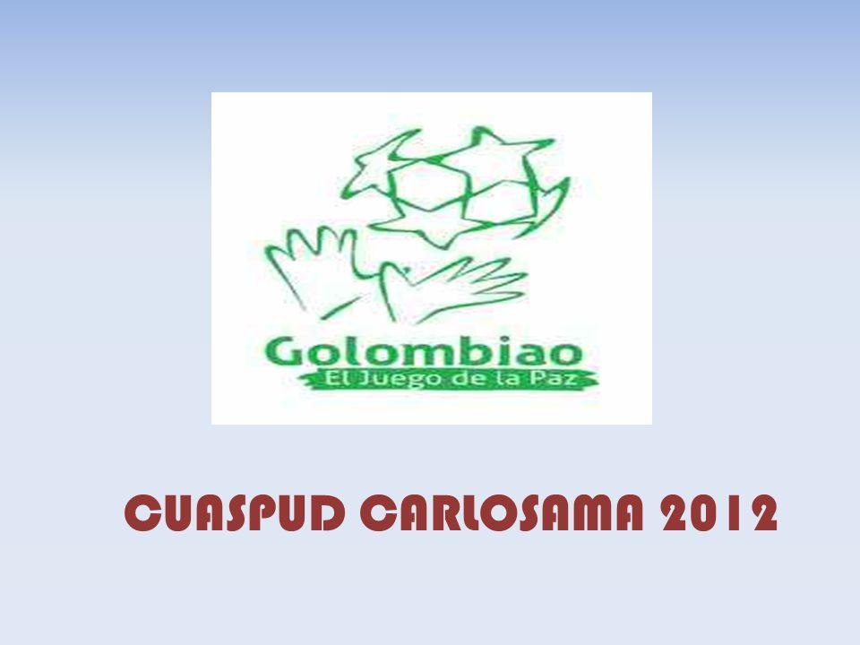 CUASPUD CARLOSAMA 2012