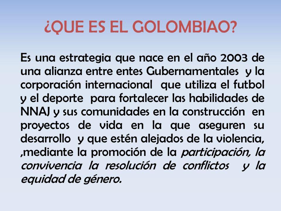 ¿QUE ES EL GOLOMBIAO