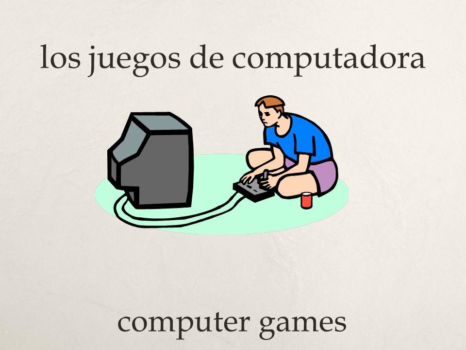 los juegos de computadora