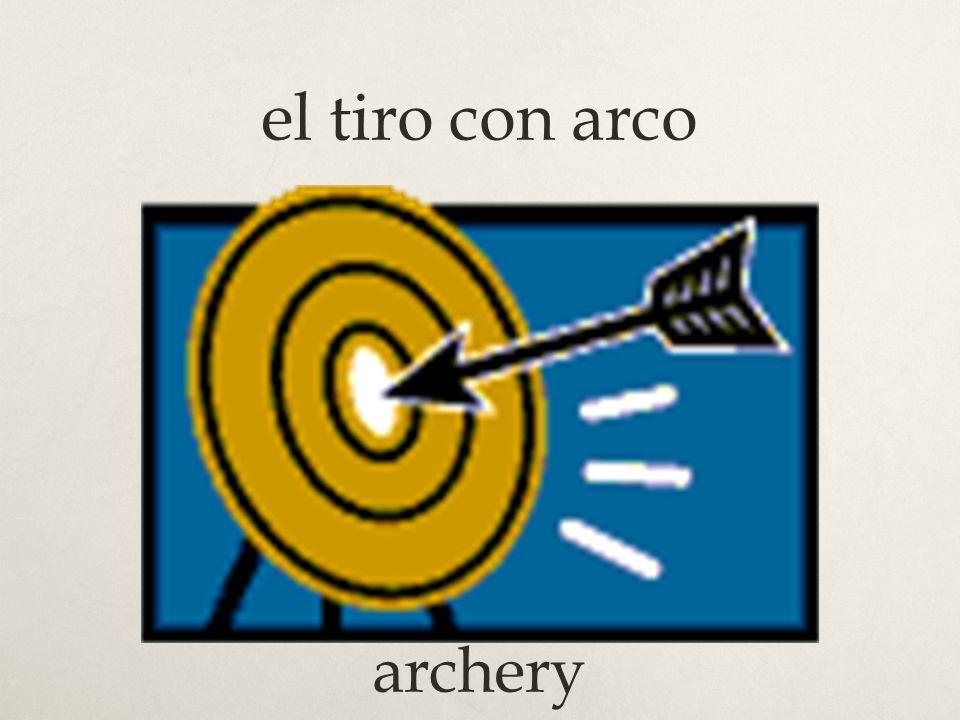 el tiro con arco archery