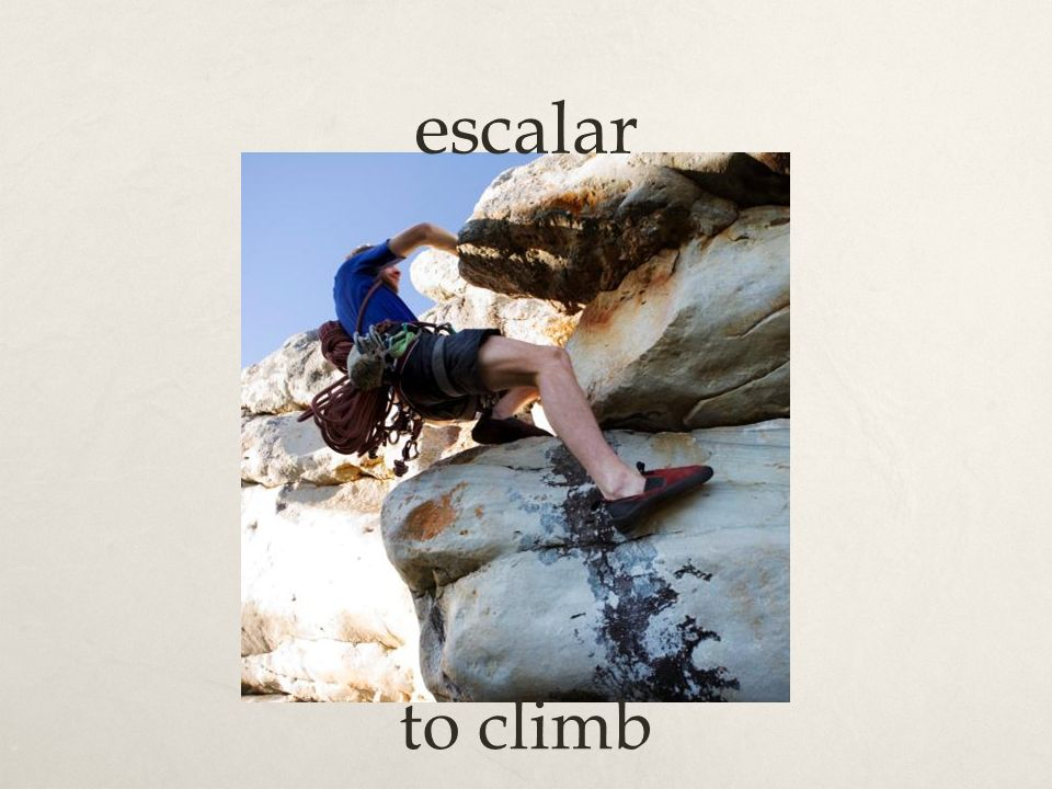 escalar to climb