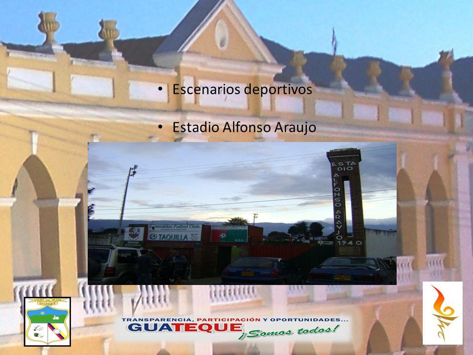 Escenarios deportivos Estadio Alfonso Araujo