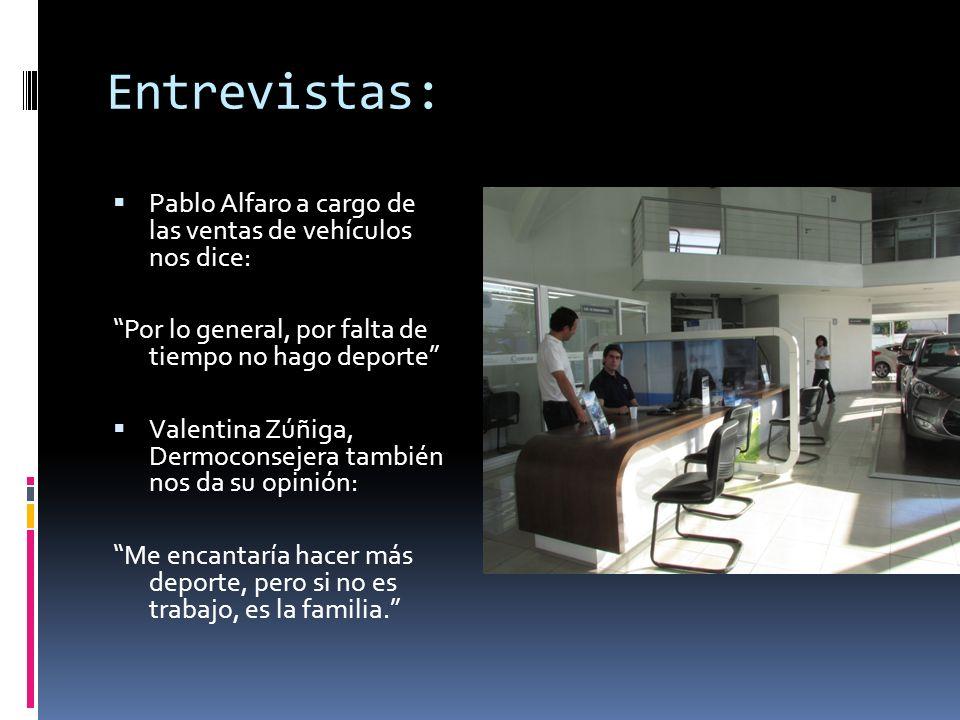 Entrevistas: Pablo Alfaro a cargo de las ventas de vehículos nos dice: