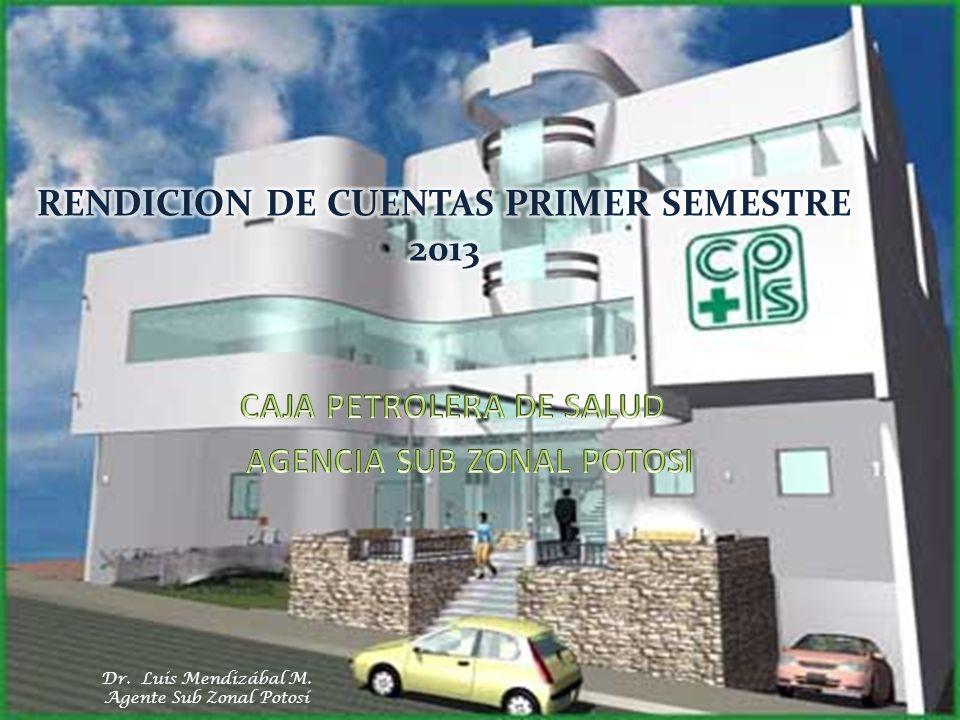 RENDICION DE CUENTAS PRIMER SEMESTRE 2013