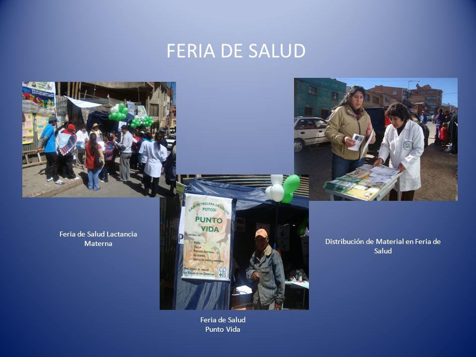 FERIA DE SALUD Feria de Salud Lactancia Materna