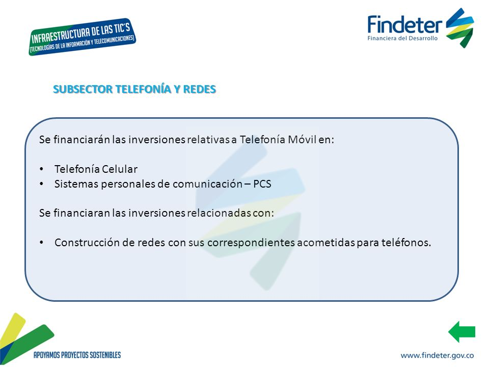 SUBSECTOR TELEFONÍA Y REDES