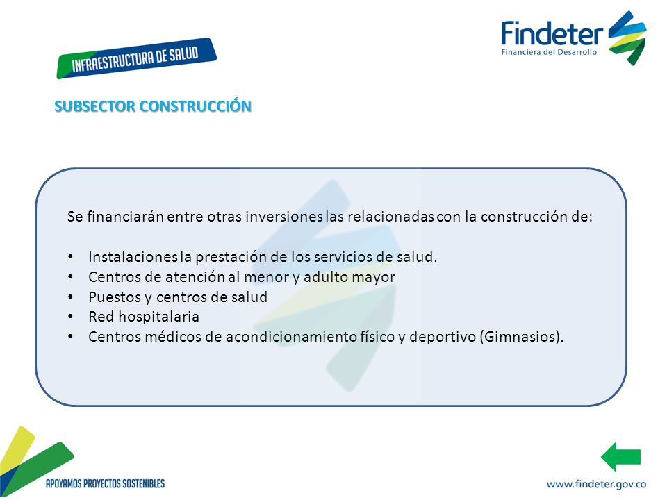 SUBSECTOR CONSTRUCCIÓN