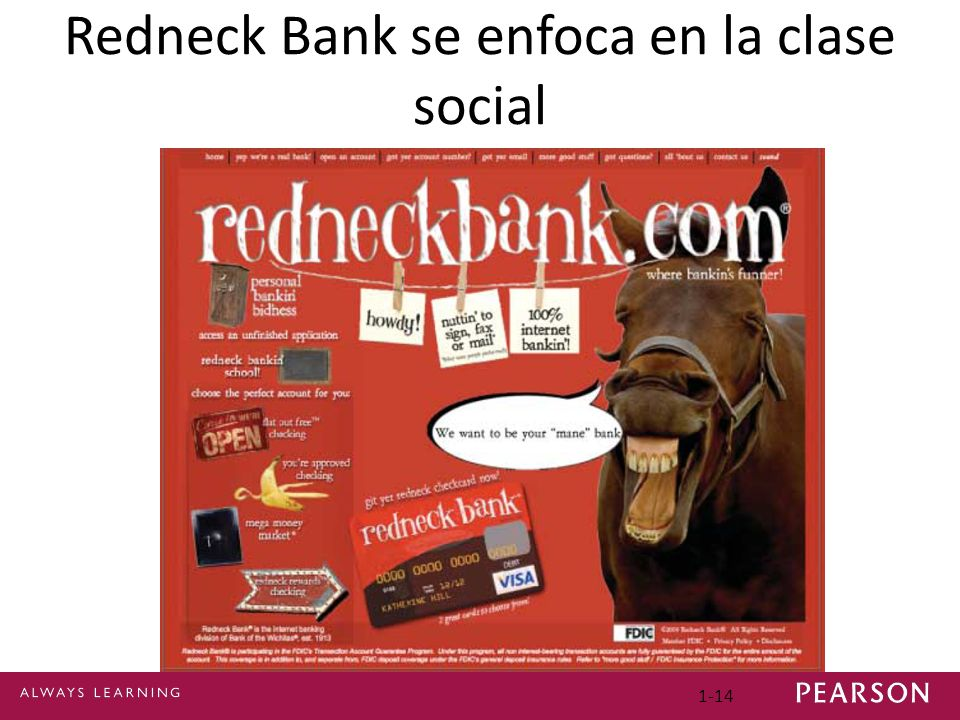 Redneck Bank se enfoca en la clase social