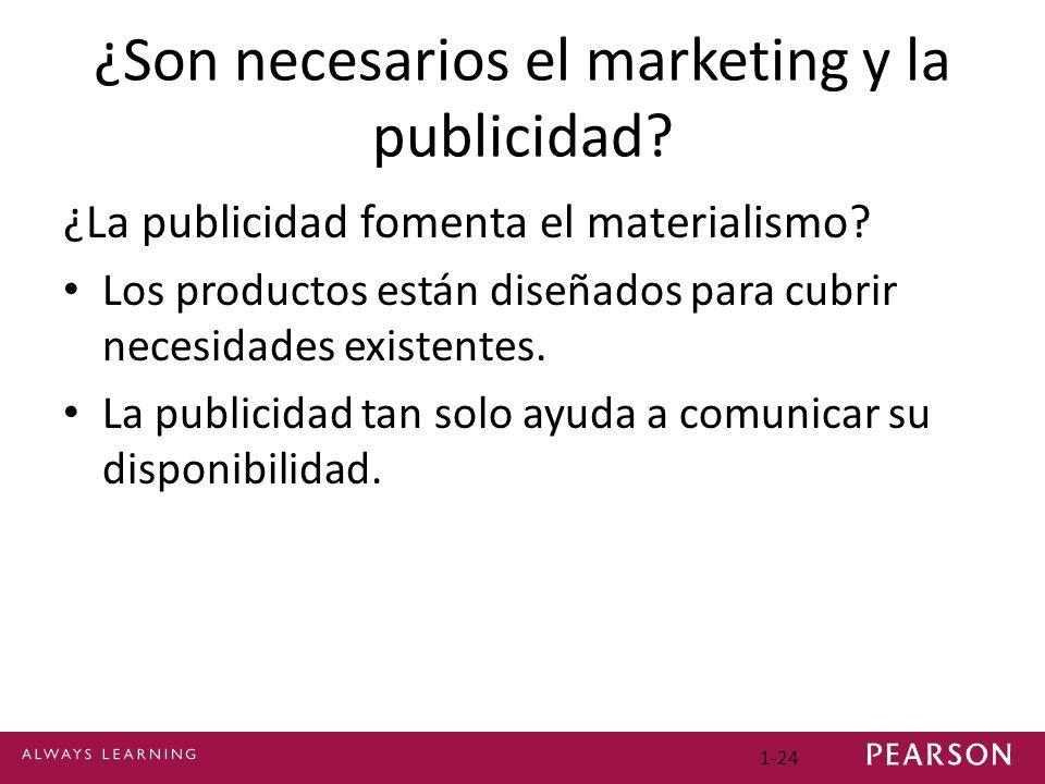 ¿Son necesarios el marketing y la publicidad