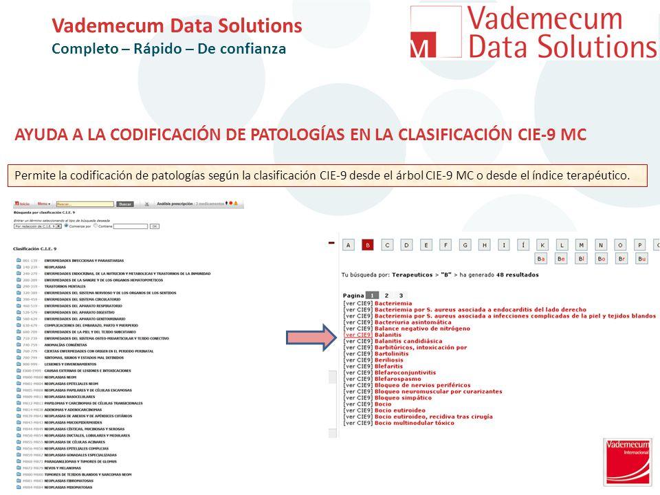 Vademecum Data Solutions Completo – Rápido – De confianza