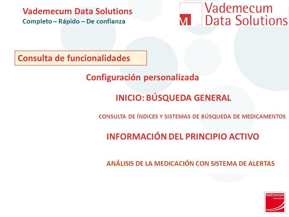 CONSULTA DE ÍNDICES Y SISTEMAS DE BÚSQUEDA DE MEDICAMENTOS