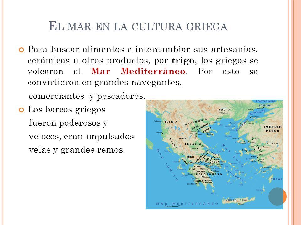 El mar en la cultura griega
