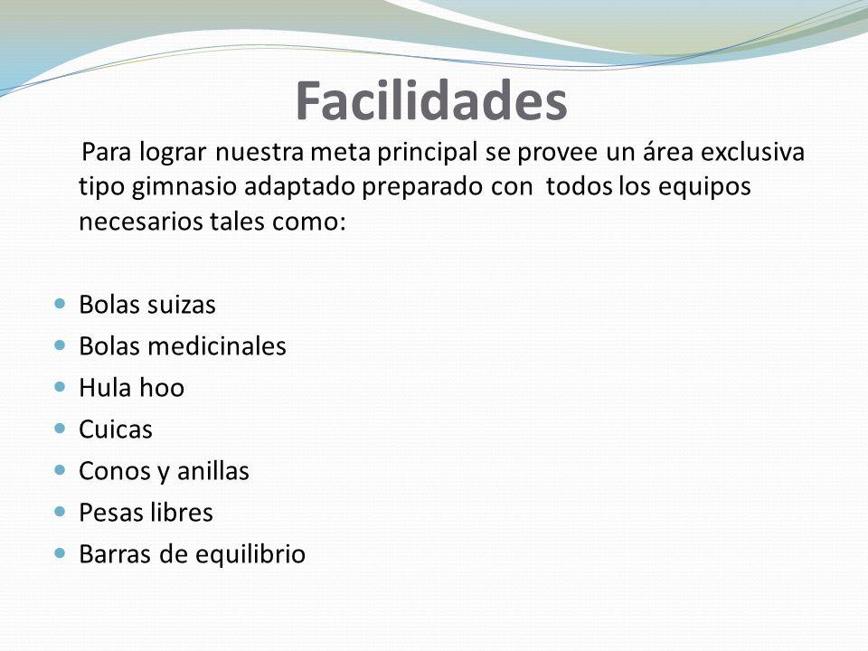 Facilidades