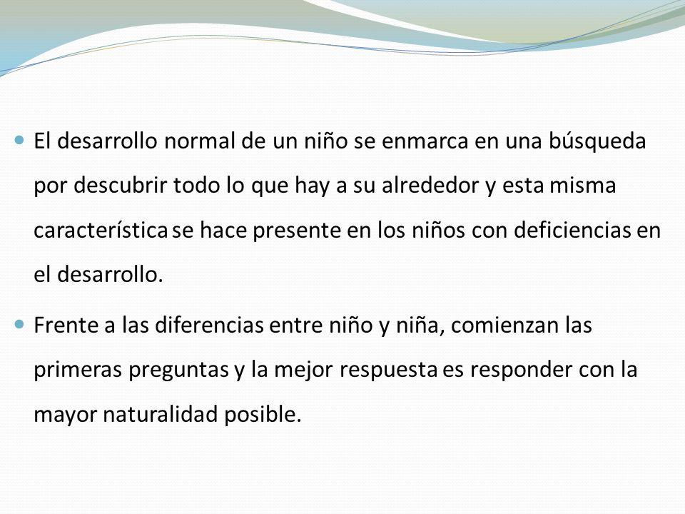 El desarrollo normal de un niño se enmarca en una búsqueda por descubrir todo lo que hay a su alrededor y esta misma característica se hace presente en los niños con deficiencias en el desarrollo.