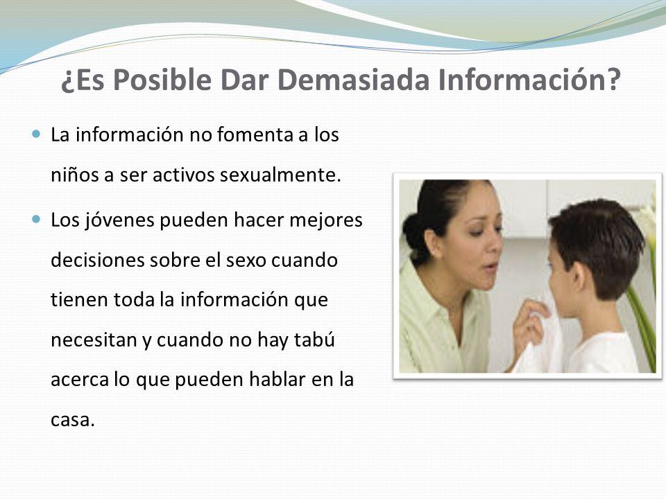 ¿Es Posible Dar Demasiada Información