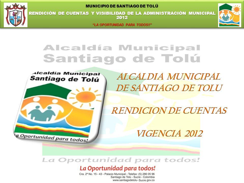 ALCALDIA MUNICIPAL DE SANTIAGO DE TOLU