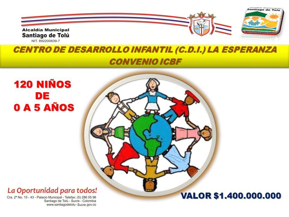 CENTRO DE DESARROLLO INFANTIL (C.D.I.) LA ESPERANZA