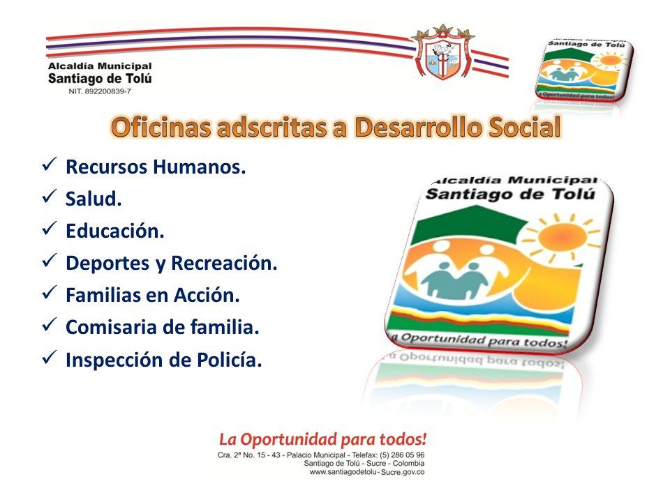 Oficinas adscritas a Desarrollo Social