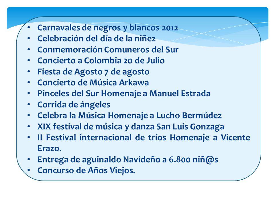 Carnavales de negros y blancos 2012