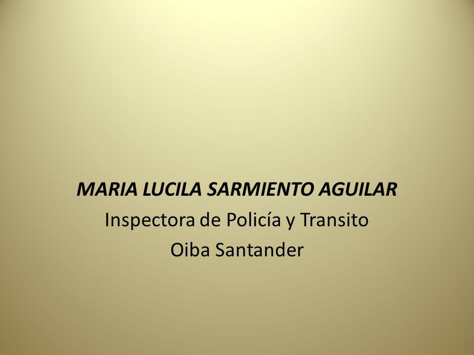 MARIA LUCILA SARMIENTO AGUILAR