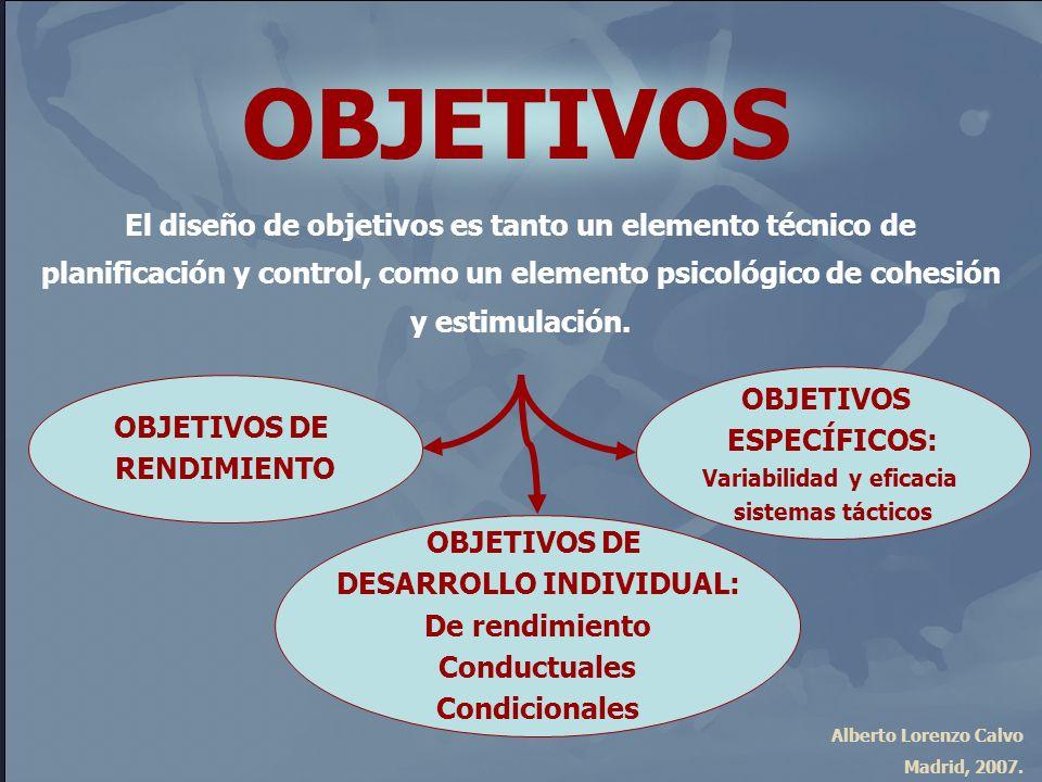 Variabilidad y eficacia DESARROLLO INDIVIDUAL: