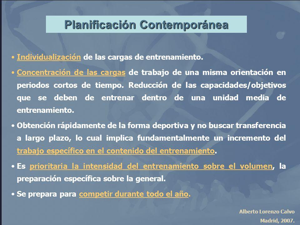 Planificación Contemporánea