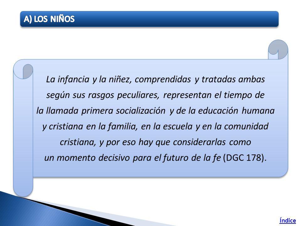 A) LOS NIÑOS
