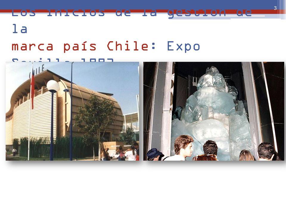 Los inicios de la gestión de la marca país Chile: Expo Sevilla 1992