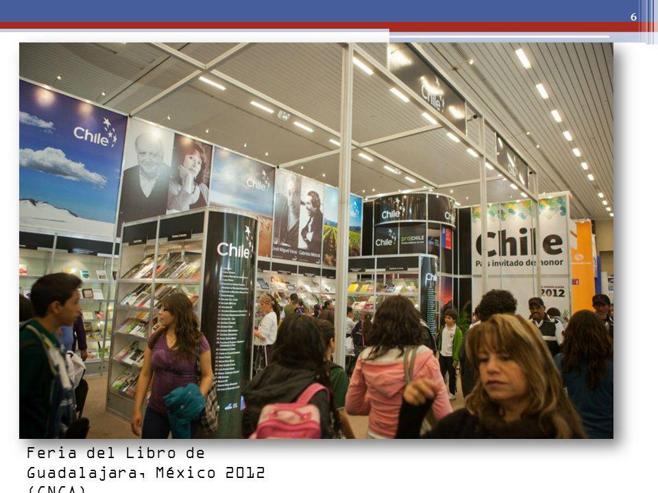 Feria del Libro de Guadalajara, México 2012 (CNCA)