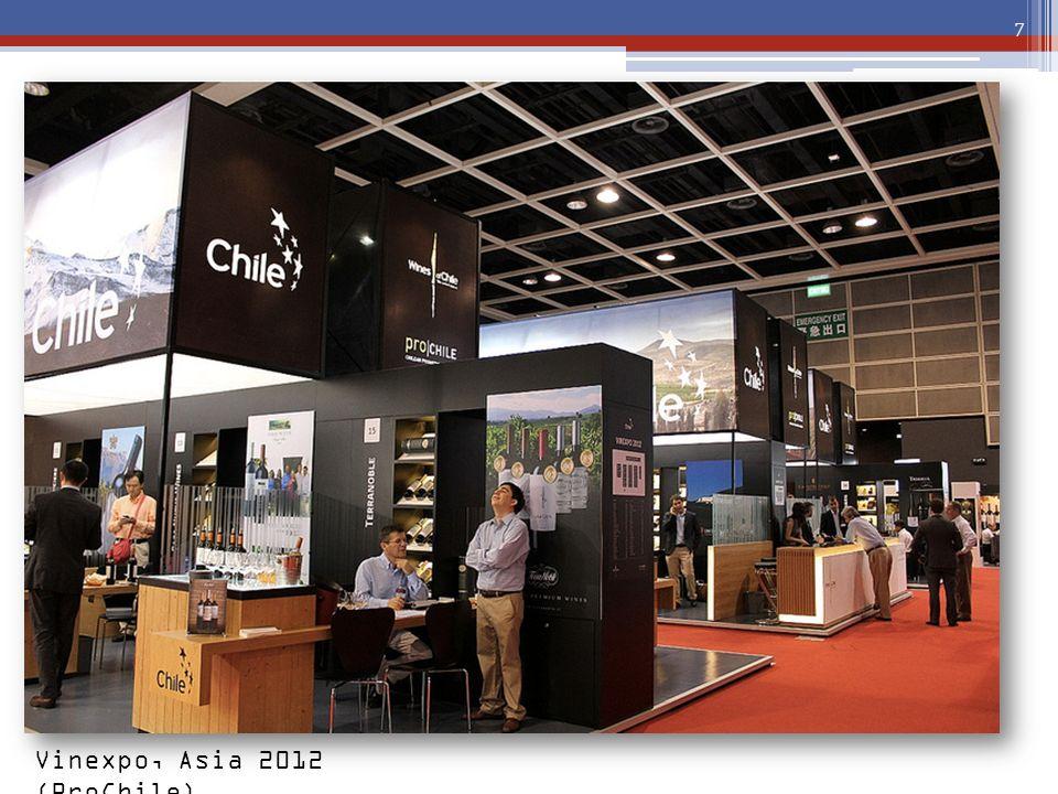 Vinexpo, Asia 2012 (ProChile)