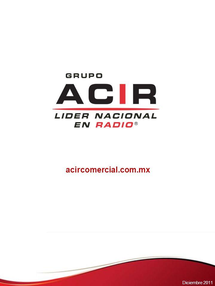 acircomercial.com.mx Noviembre 2011 Diciembre 2011