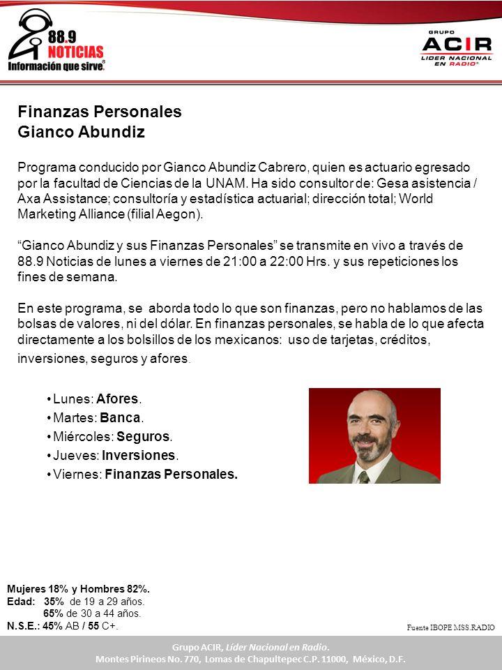 Finanzas Personales Gianco Abundiz