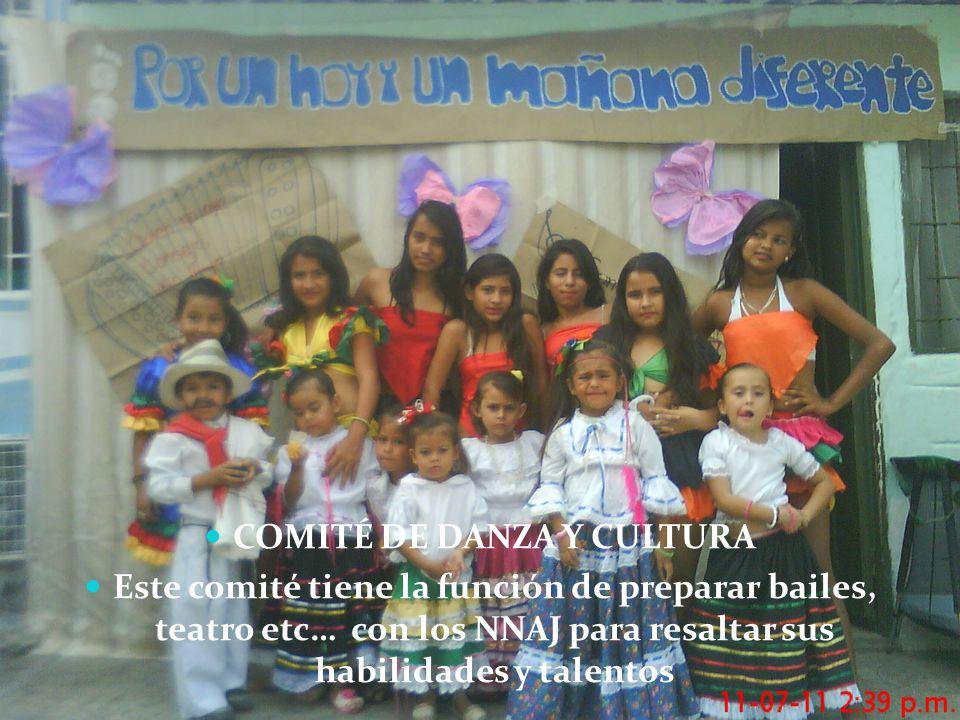 COMITÉ DE DANZA Y CULTURA