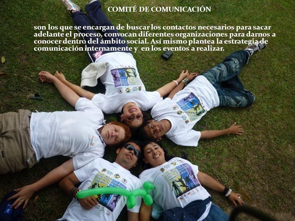 COMITÉ DE COMUNICACIÓN