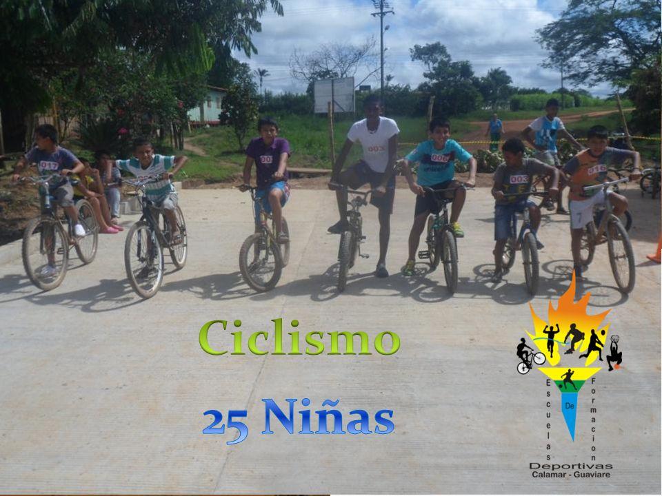 Ciclismo 25 Niñas