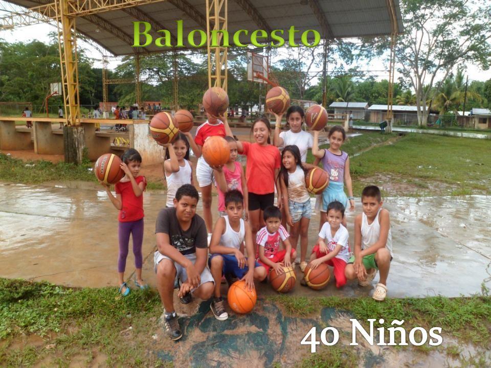 Baloncesto 40 Niños