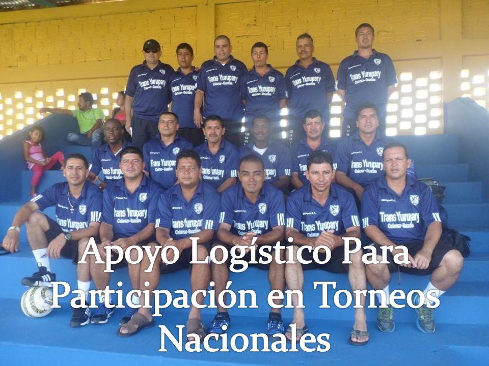 Participación en Torneos Nacionales