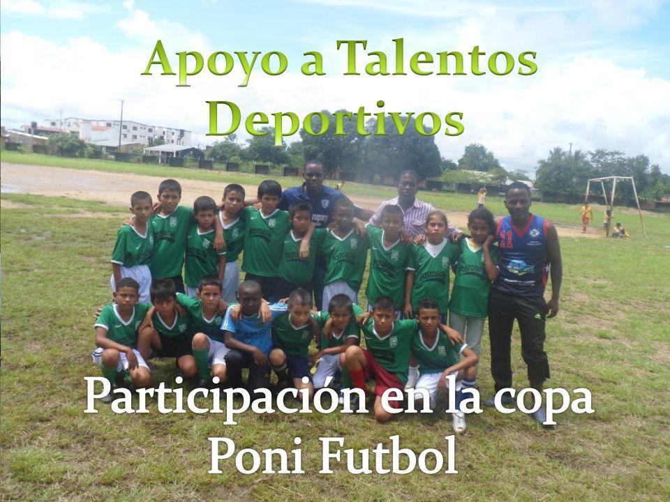 Apoyo a Talentos Deportivos