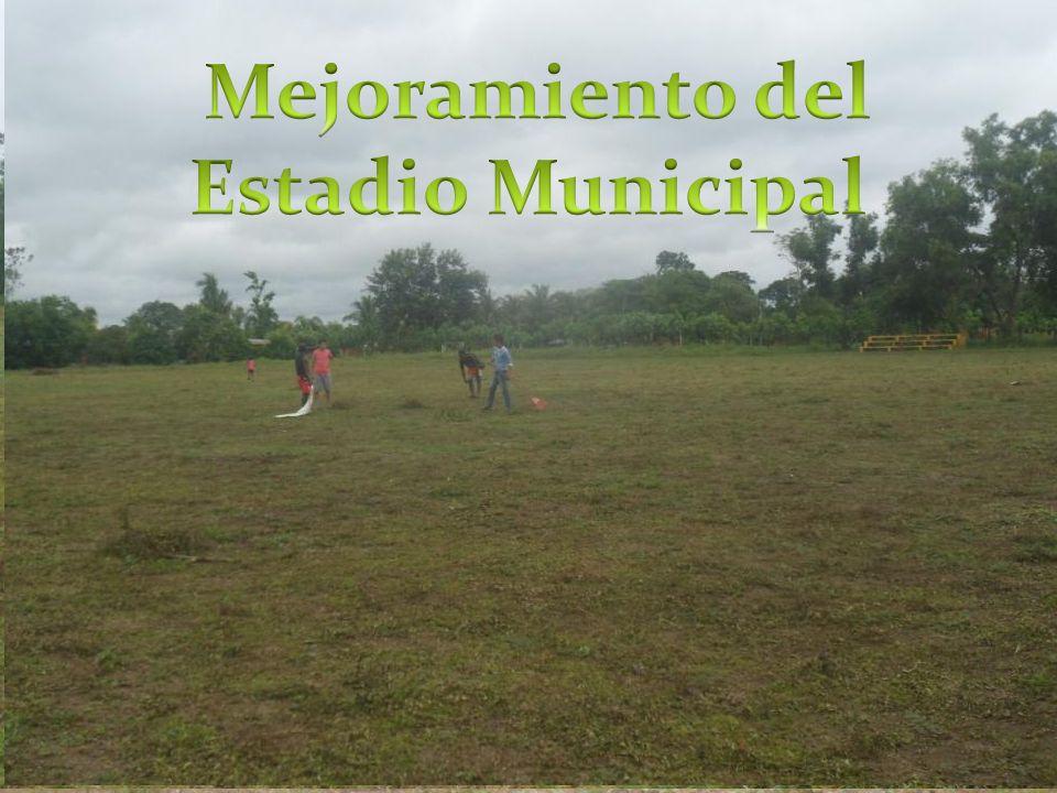 Mejoramiento del Estadio Municipal