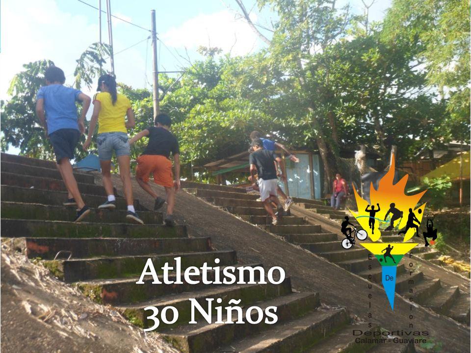 Atletismo 30 Niños