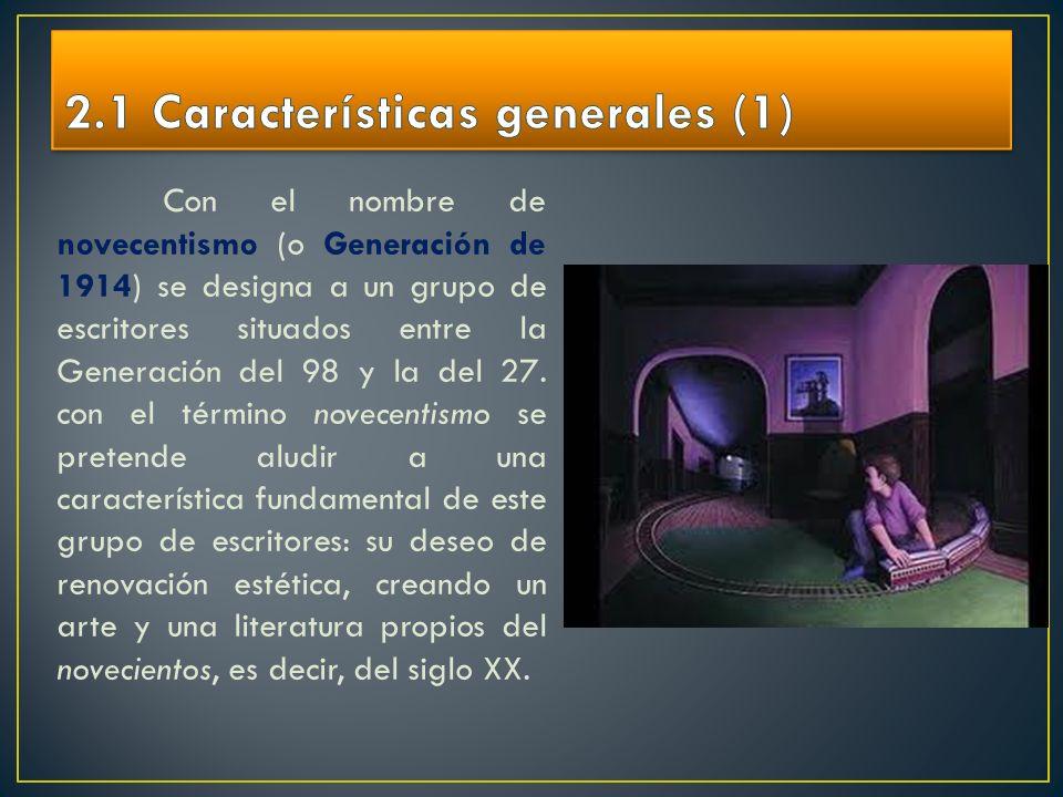 2.1 Características generales (1)